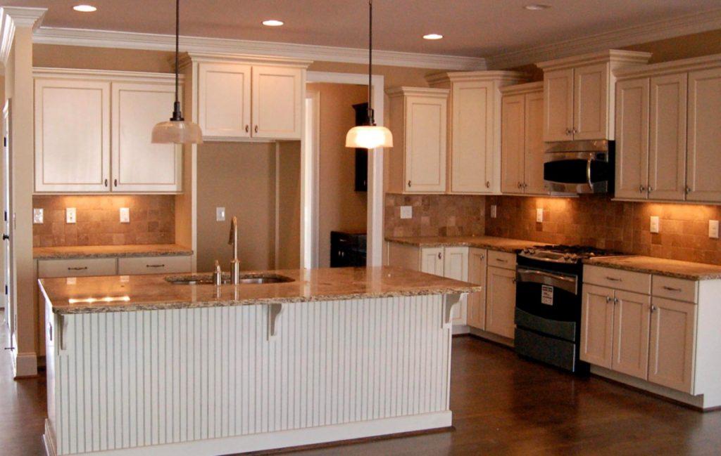 Вінтажні кухні на замовлення в білих тонах