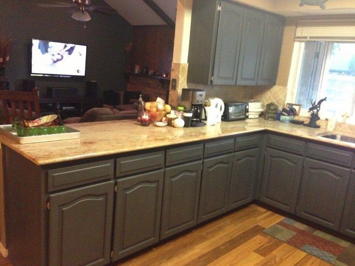 Темно сірі кухні на замовлення фото