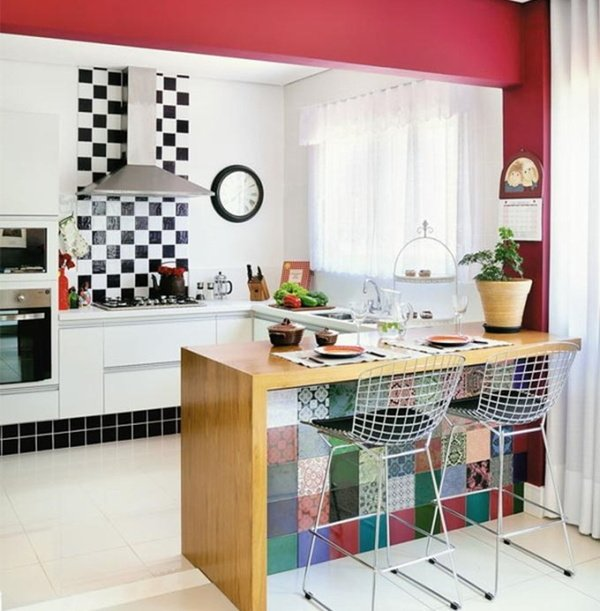 маленькі кухні з островом