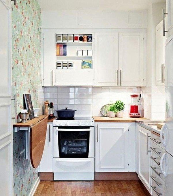 кухні зі складним столиком