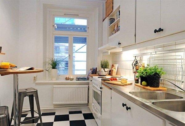 маленькі білі кухні модерн