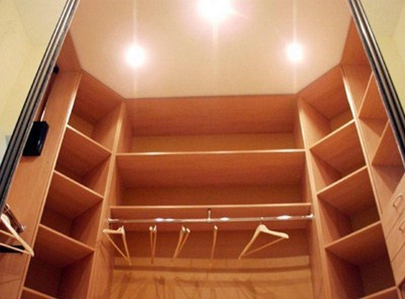 Гардеробні кімнати на замовлення фото 8