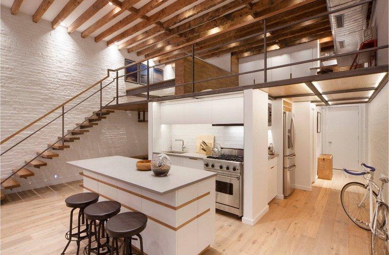 Двохповерхова кухня