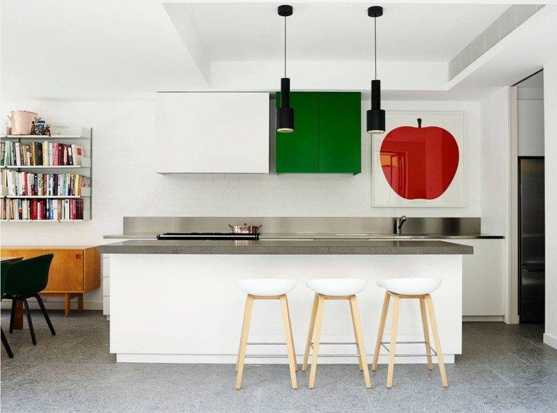 Кухня з яблуком