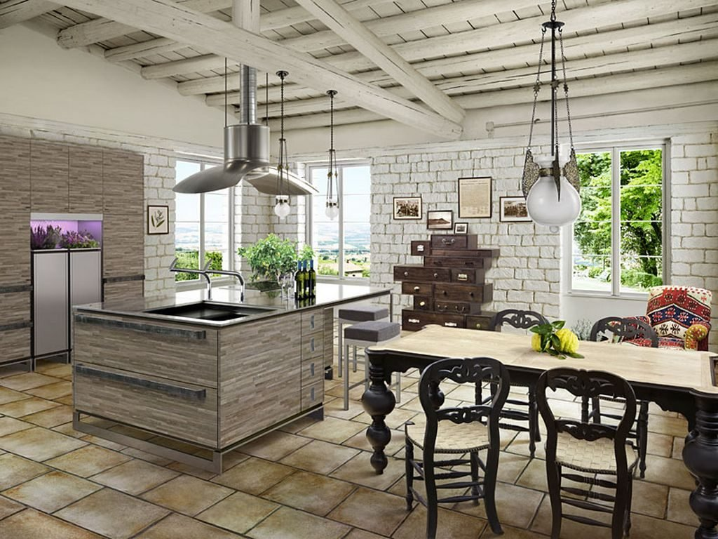 Кухня прованс фото Кухні.IF 13