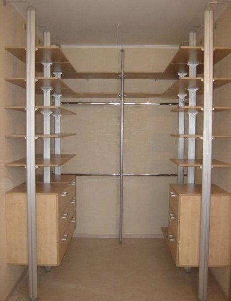 Гардеробні кімнати на замовлення фото 11