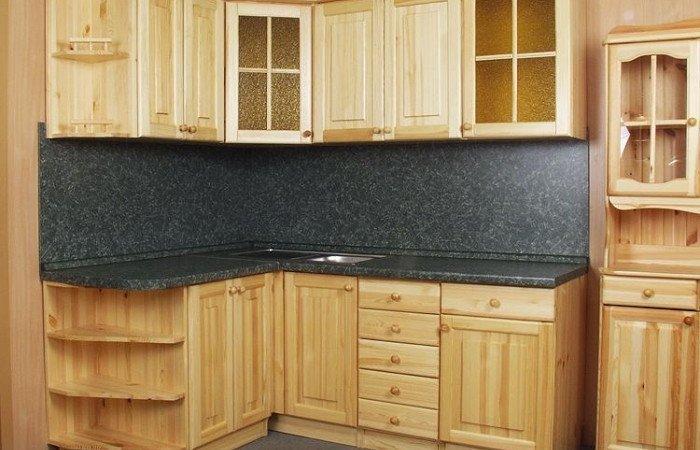 Кухні з масиву на замовлення фото 4