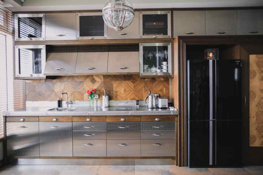Кухня в стилі лофт фото кухні.If - 2