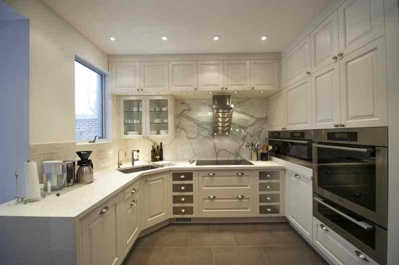 Кутові кухні на замовлення фото Кухні.IF-10