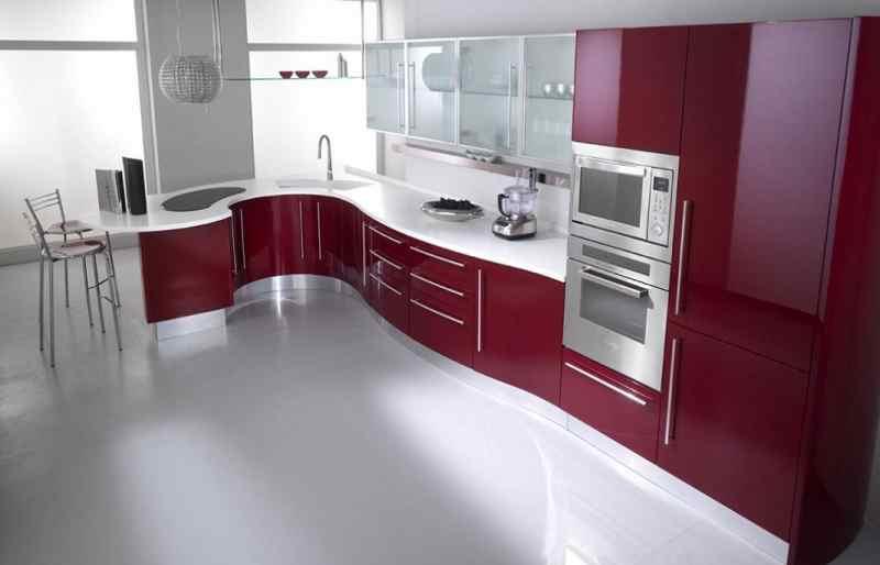 Кутові кухні на замовлення фото Кухні.IF-11