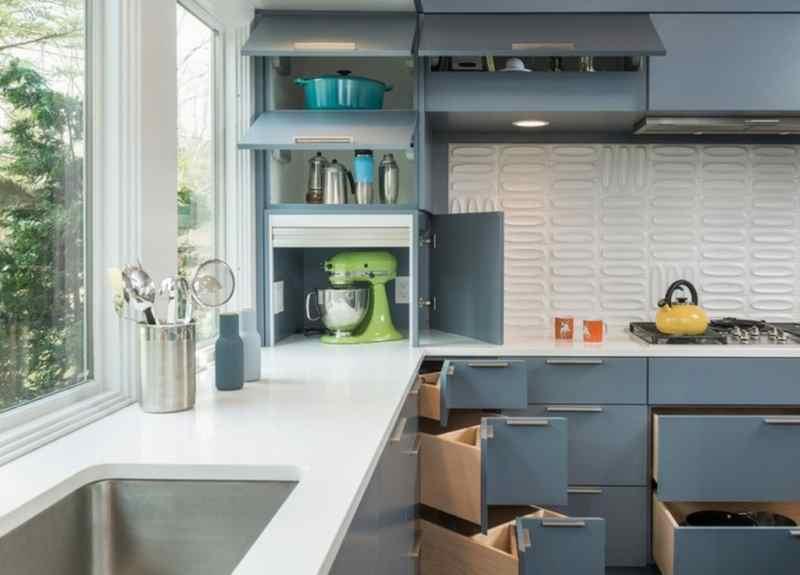 Кутові кухні на замовлення фото Кухні.IF-12