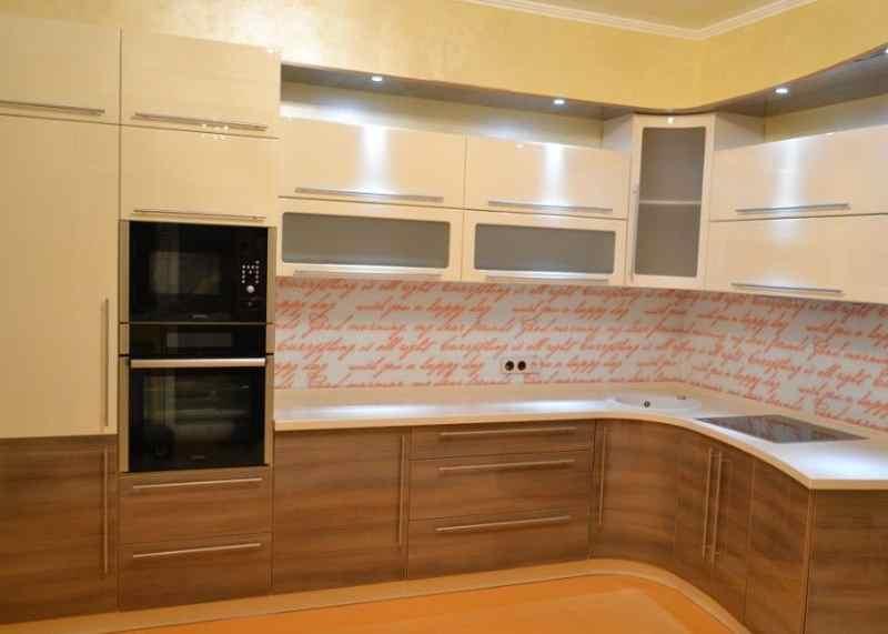 Кутові кухні на замовлення фото Кухні.IF-17