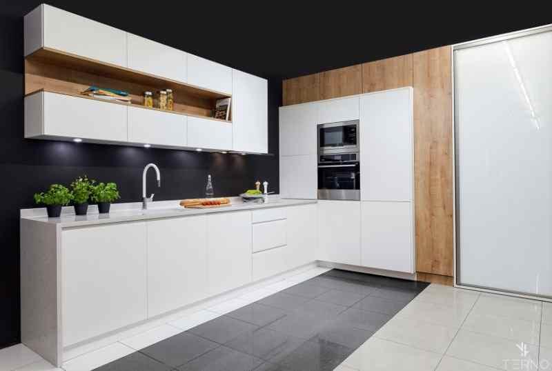 Кутові кухні на замовлення фото Кухні.IF-25