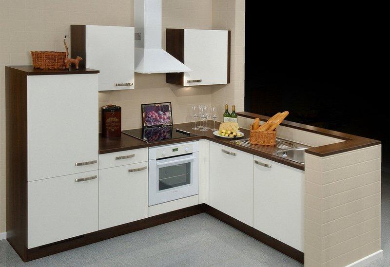 Кутові кухні на замовлення фото Кухні.IF-26