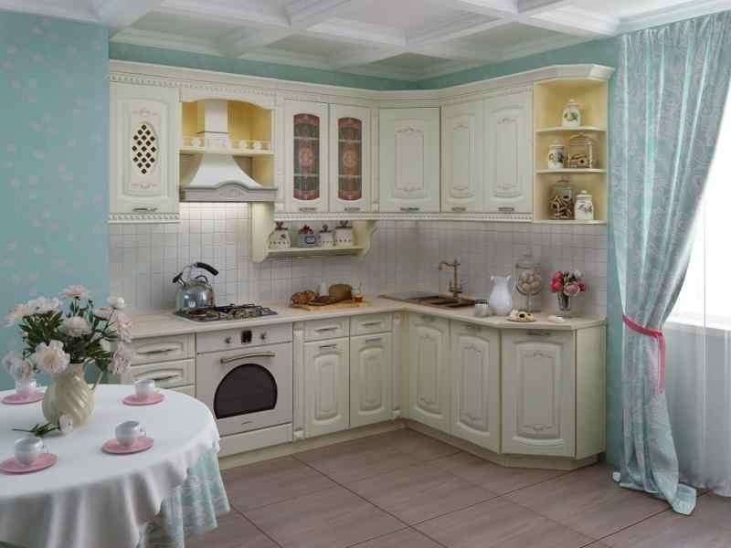 Кутові кухні на замовлення фото Кухні.IF-3