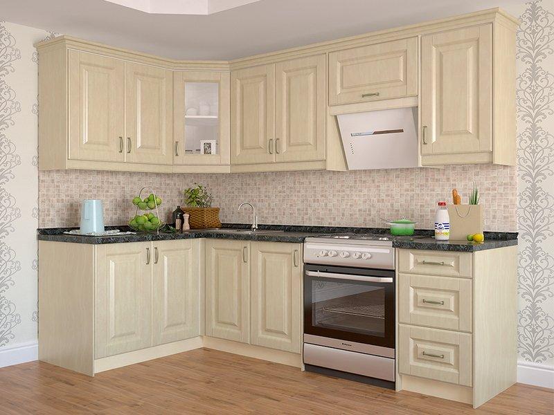 Кутові кухні на замовлення фото Кухні.IF-31