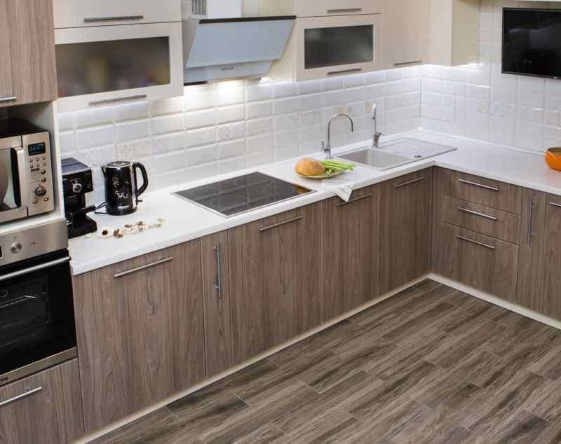 Кутові кухні на замовлення фото Кухні.IF-33