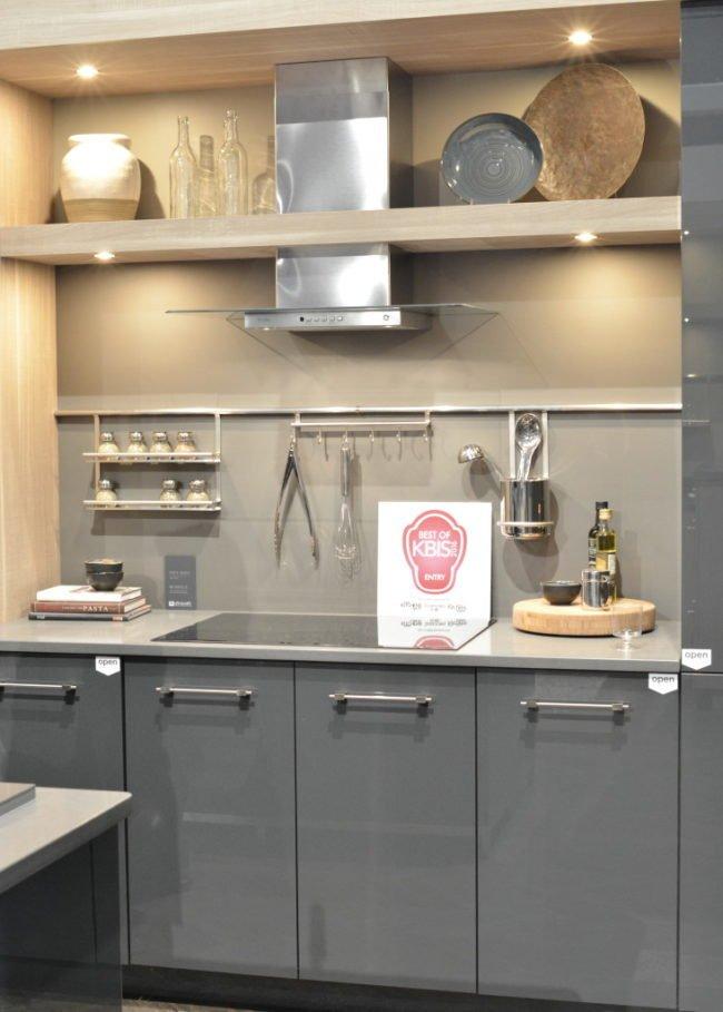 кухня глянц Дизайн кухні тренди 2017