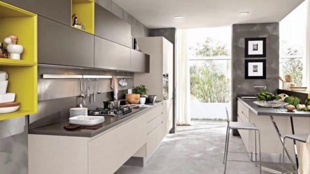 Модний інтер'єр кухні фото 1