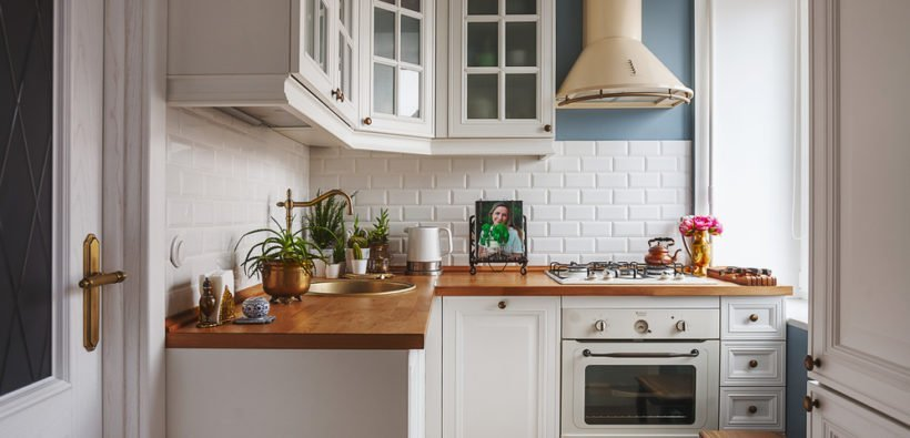Модний інтер'єр кухні фото 11