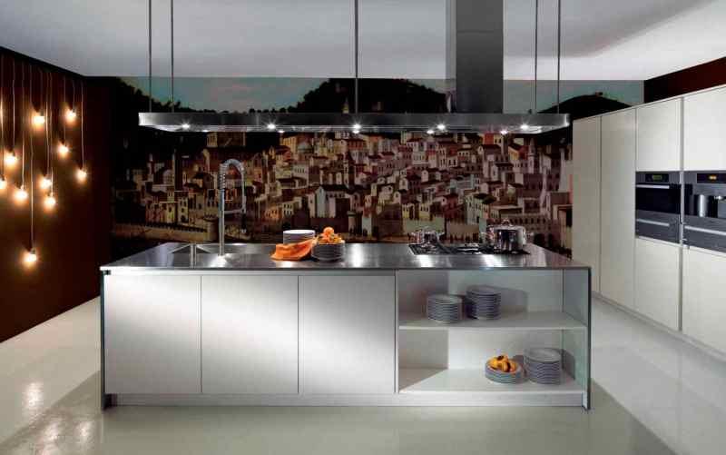 Модний інтер'єр кухні фото 28