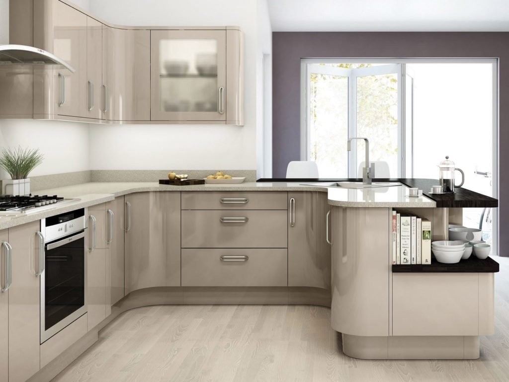 Модний інтер'єр кухні фото 6