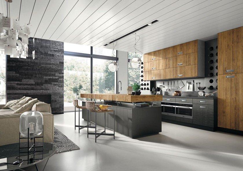 Модний інтер'єр кухні фото