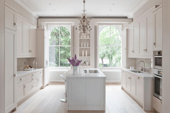Біла кухня на замовлення фото 2