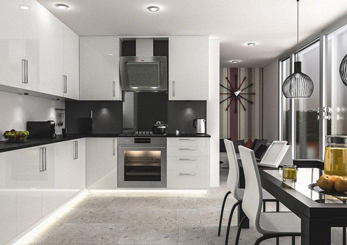 Біла кухня на замовлення фото 7