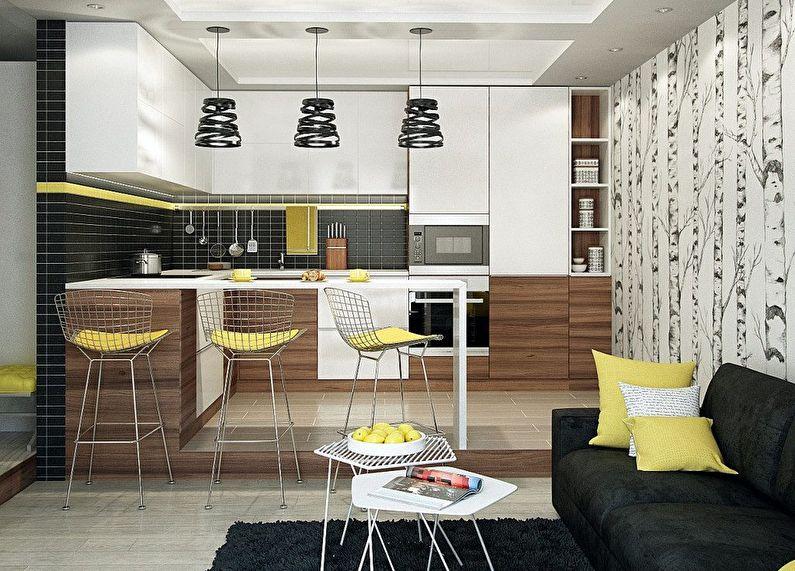 Кухня у стилі модерн фото 10