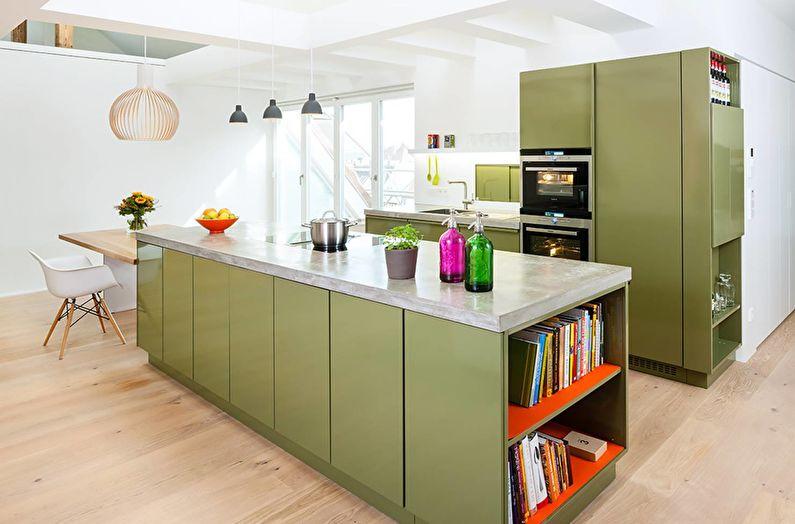 Кухня у стилі модерн фото 11