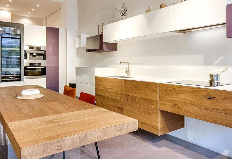 Кухня у стилі модерн фото 12