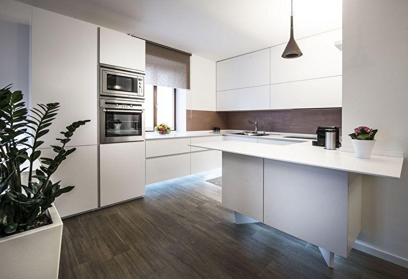 Кухня у стилі модерн фото 14