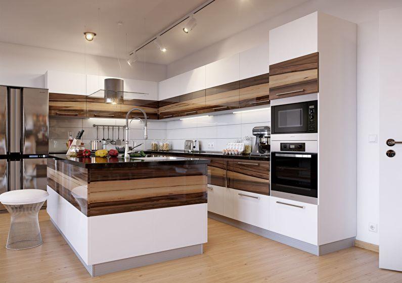 Кухня у стилі модерн фото 15