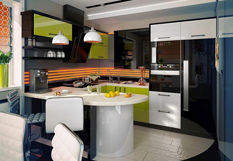 Кухня у стилі модерн фото 2