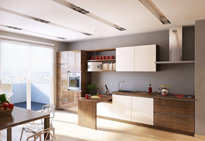 Кухня у стилі модерн фото 5