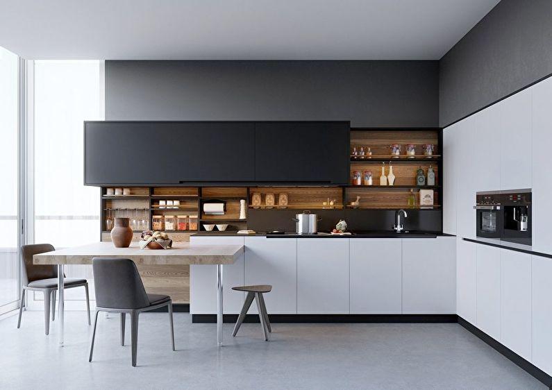 Кухня у стилі модерн фото 6