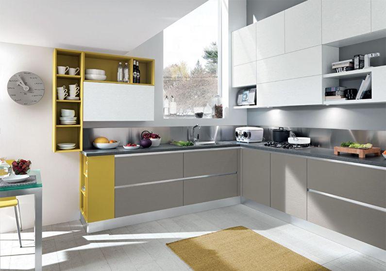 Кухня у стилі модерн фото 7