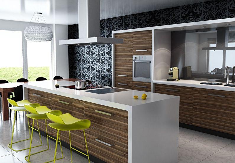 Кухня у стилі модерн фото
