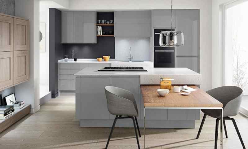 Інтере'єр кухні у стилі модерн фото 2