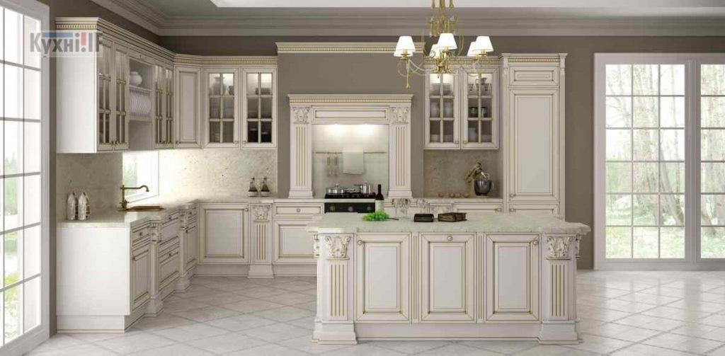 Кухні в класичному стилі фото Кухні.IF-2