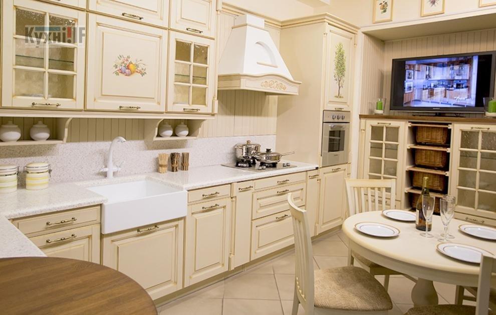 Кухні в класичному стилі фото Кухні.IF-14