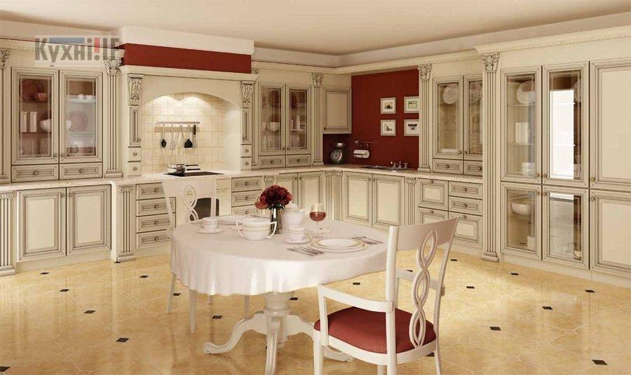 Кухні в класичному стилі фото Кухні.IF-19
