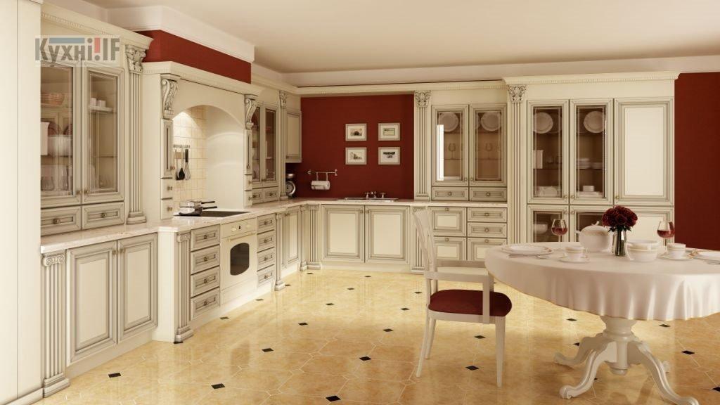 Кухні в класичному стилі фото Кухні.IF-20