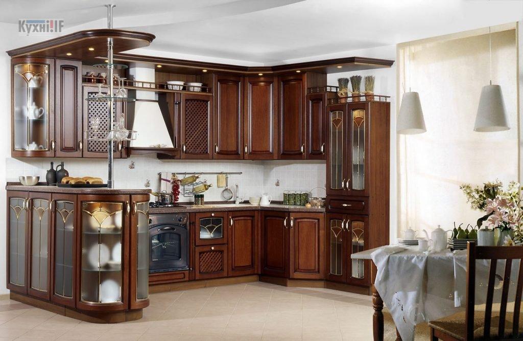 Кухні в класичному стилі фото Кухні.IF-28