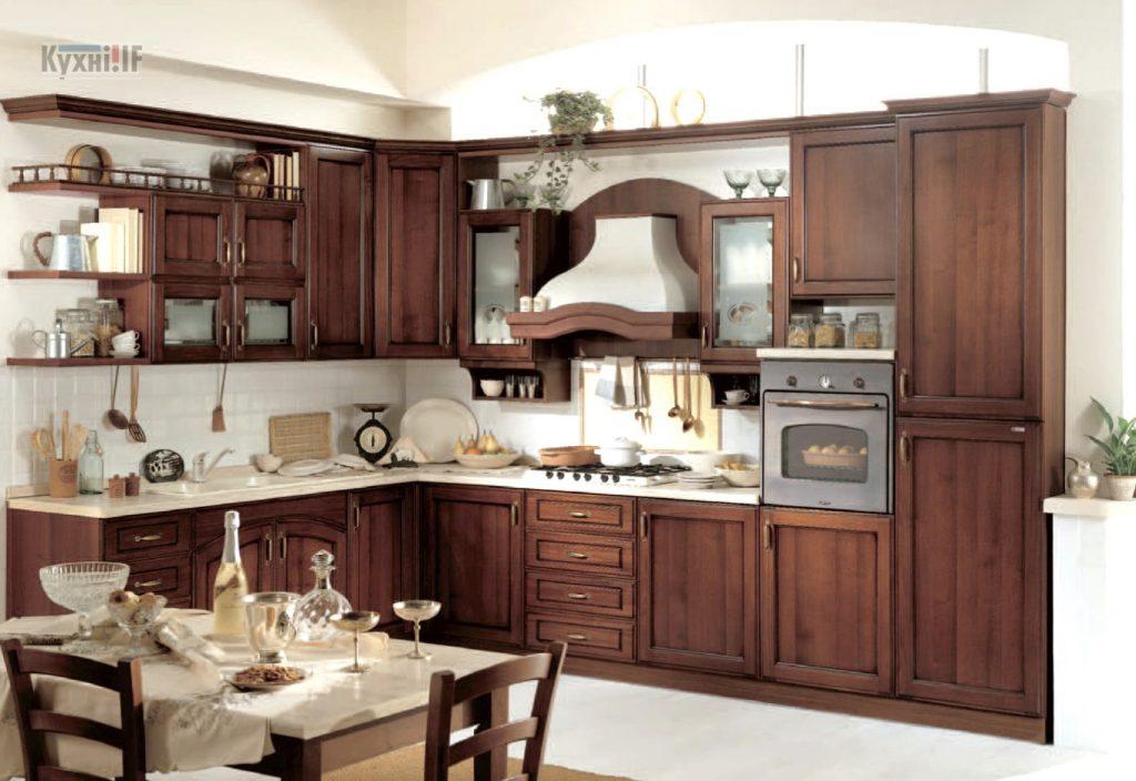 Кухні в класичному стилі фото Кухні.IF-29