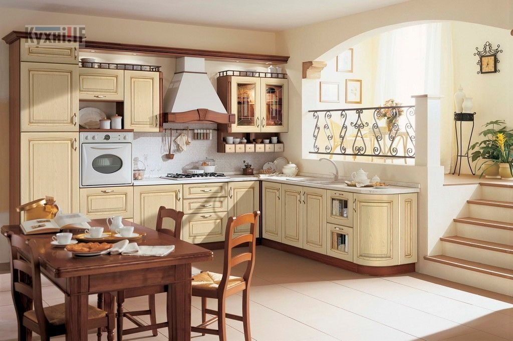 Кухні в класичному стилі фото Кухні.IF-30