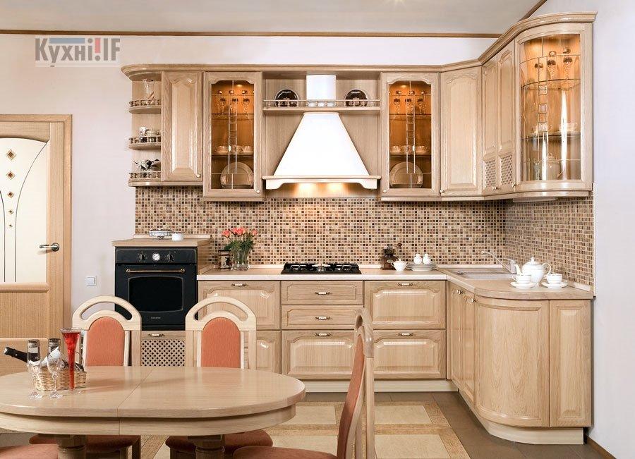 Кухні в класичному стилі фото Кухні.IF-31