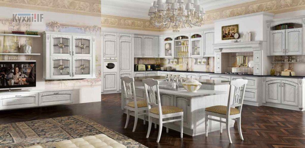Кухні в класичному стилі фото Кухні.IF-34