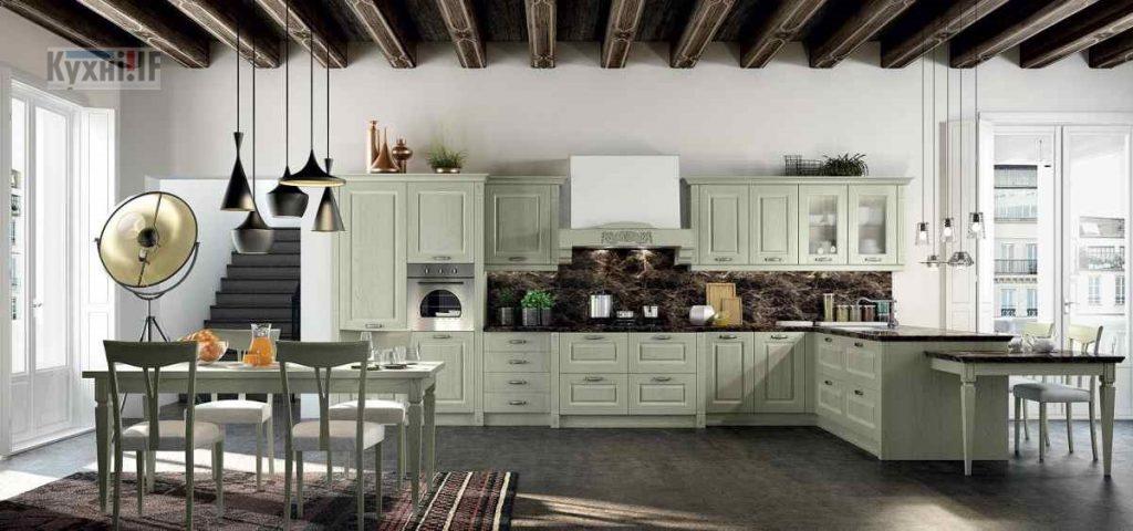 Кухні в класичному стилі фото Кухні.IF-35